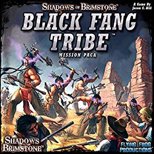 Flying Frog Productions FFP07MP04 Sombras de Brimstone: Negro Fang Tribe-Mission Pack, Multicolor
