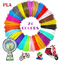 3D Penna Filamento Ricarica 1,75mm PLA 24 Colori 5M 3D Filamento per penna di stampa 3D filamento di stampa 3D