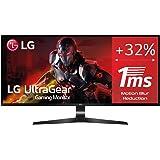 "LG 29UM69G-B - Monitor Gaming de 73,7 cm (29"") WFHD (2560 x 1080, IPS, 21:9, DisplayPort x1, HDMI x1, USB-C x1, AUX x1, Ultra"