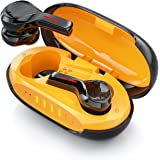 Auricolari Bluetooth Sport, LHBD Cuffie Bluetooth con Cancellazione del Rumore per Chiamate Chiare, Auricolari Wireless con 4