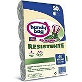 Handy Bag Poubelle 50 l 90% recyclé extra résistant 40 sacs 50 l