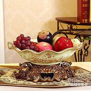 Continentale Nouveau ceramica americana frutta grande creative home decorazioni frutta i dadi della piastra di ciotola arredato tabella prodotti C 31*14cm