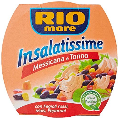Rio mare - Insalatissime Messicana e Tonno, con Fagioli Rossi, Mais, Peperoni - 160 g
