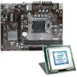 Intel Core i5-7500 / MSI H110M Pro-VD Mainboard Bundle | CSL PC Aufrüstkit | Intel Core i5-7500 4X 3400 MHz, Intel HD Graphics 630, GigLAN, 7.1 Sound, USB 3.1 | Aufrüstset | PC Tuning Kit