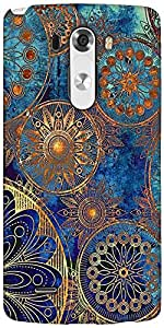 Snoogg Antique Formations Designer Protective Back Case Cover For LG G3