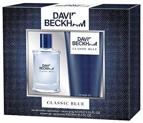David Beckham Geschenkset Classic Blue EdT 40ml + Shower Gel 200ml, 1er Pack (1 x 240 ml)