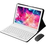 KISEDAR Tablet PC de 10 Pulgadas Android 9.0 4GB RAM / 64GB / 8000AH / Tarjeta SIM Dual/GPS/WiFi/Teclado Bluetooth/Mouse/Cubi