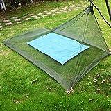 Kelenpro Camping Moskitonetz für Einzel Camping Bed-Einzelbett