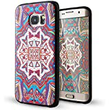 Galaxy S7 Edge Coque,Lizimandu 3D Motif Tpu Silicone Gel Étui Housse Protection Shell Cover Case Pour Samsung Galaxy S7 Edge(Maya Totem)