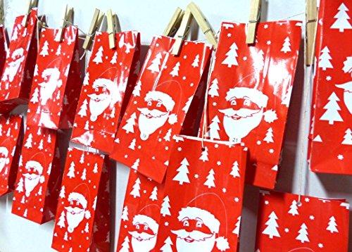 Nick and Ben Advents-kalender Weihnachts-kalender zum befüllen Kalender Männer Frauen Kinder