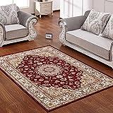 Amerikanischen Klassischen Bereichswolldecke,European teppich teppich rechteck footcloth dicker einfach modern für wohnzimmer bett-E 55*79inch(140*200cm)