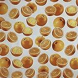 Orangen creme 100% High Qualität Reine Baumwolle Canvas