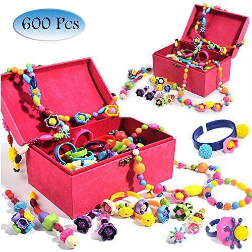 Think Kid® Girls Fashion Pop Beads Jewellery Set