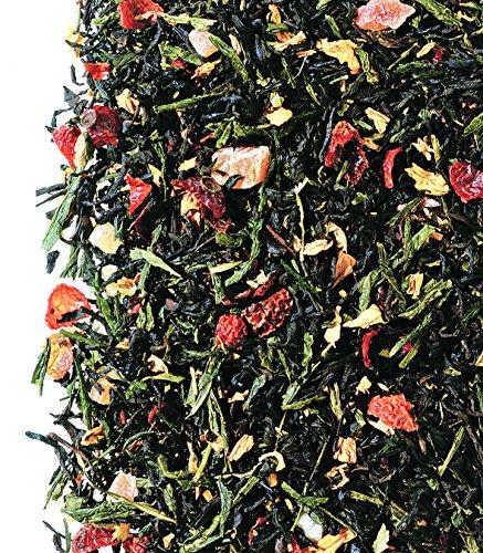 Schwarz-/Grünteemischung Zaubermond Erdbeer-Note arom. 1KG