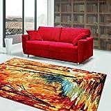 BAGEHUA Maßgeschneiderte türkische Wohnzimmer Teppich Blended Couchtisch Sofa Schlafsofa Sofa...
