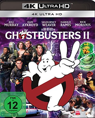 Ghostbusters 2 - 4k Ultra HD Blu-ray