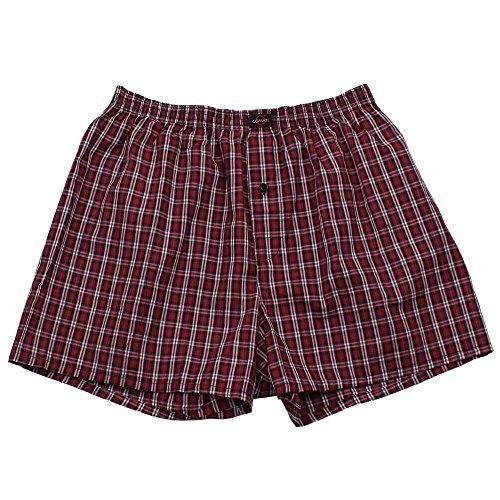 3er Pack Web-Boxer Shorts für Herren auch in Übergröße Nr. 436 ( 9 (XXXL) ) - 3