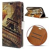 LG X Power 2 Hülle,LG X Power 2 Handyhülle LG X Power 2 Wallet Case Cover Tasche [Exquisite Muster] Brieftasche Flip Hülle im Bookstyle Cover Schale Etui Karten Slot Schutzhülle Für LG X Power 2 Ledertasche Wallet - E#