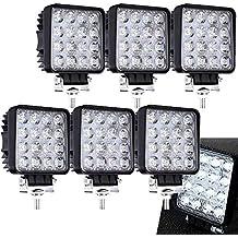 6 x 48 W Cuadrado Miracle – Reflector led luz de trabajo SUV, UTV,