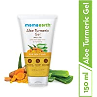 Mamaearth Aloe Turmeric Gel From 100% Pure Aloe Vera For Face, Skin & Hair with Turmeric & Vitamin E (150 Ml)