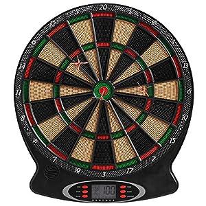 Best Sporting London elektronische Dartscheibe, Dartboard mit 6 Dartpfeilen...