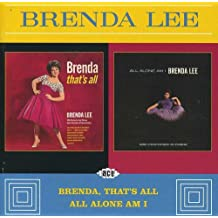 Brenda That's All/All Alone Am I