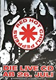 Red Hot Chili Peppers Poster LIVE IN Hyde Park