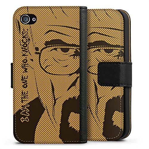 Apple iPhone X Silikon Hülle Case Schutzhülle Heisenberg Breaking Bad Walter White Sideflip Tasche schwarz