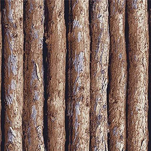 Zhaorll stampa adesiva autoadesiva della parete della camera da letto della parete della camera da letto del dormitorio autoadesivo del pvc di stampa di legno del grano 45cm * 6m