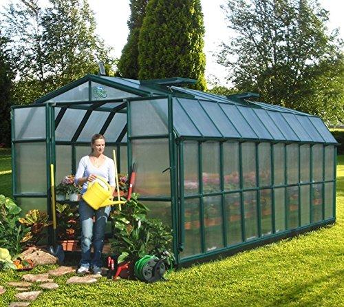 Rion Kunststoff Gewächshaus Grand Gardener 410 mit 16,34 m² Grundfläche