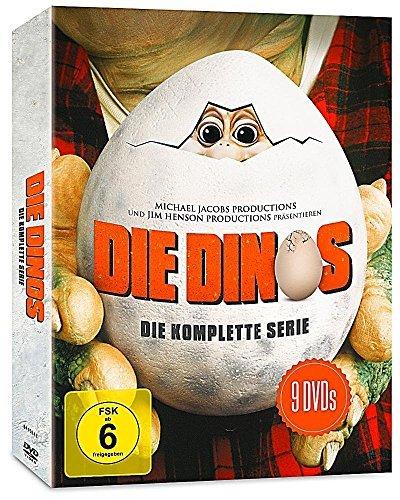 Die Dinos Staffel 1 bis 4 - Komplette Serie von Jim Henson - 9-Disc DVD Set