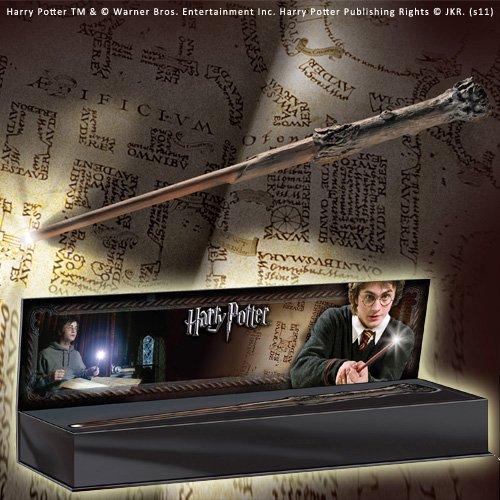La varita con luz de Harry Potter (accesorio de disfraz)