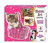 Mosaic Art Bastelset mit Kätzchen-Motiven, Mosaikbilder