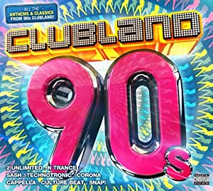 Clubland 90s music for 90 s house music artists