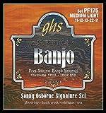 GHS PF175 Jeu de 5 cordes pour Banjo