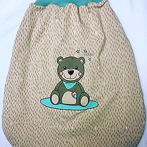 Bio Pucksack/Schlafsack Teddy