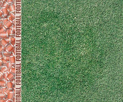 One-sided Scrapbook-Papier (1pc) - Fußball-Grenze, Hot Off The Press, Inc, 30 x 30 Kinder -, Papier -, Druck -, Scrapbooking -