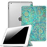 Fintie iPad 2/3 / 4 Hülle - Ultradünne Superleicht Schutzhülle mit Transparenter Rückseite Abdeckung Cover mit Auto Schlaf/Wach Funktion für Apple iPad 2 / iPad 3 / iPad 4 Retina, Jade