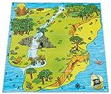 Bee-Bot - Bodenmatte für Schatzsuchen - für Bodenroboter, Kinder Roboter, Bewegungsabläufe, Logikspiele - Lernroboter programmierbar Befehle Problemlösekompetenz Schule Grundschule Kindergarten