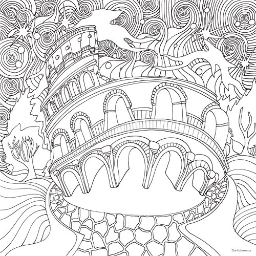 The Magical City Colouring Books
