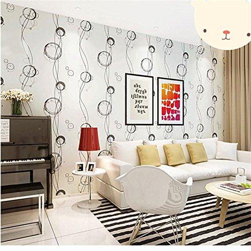 Zhzhco Verdickung Pvc Selbstklebend Papier Für Wandplakate Einfügen Geprägte Tapeten Der Pastoralen Kinderzimmer Wohnzimmer Hintergrund Post 45Cm*10M