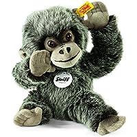 Steiff 062292 - Gora Gorilla Baby, Plüschtier, gespitzt, 25 cm, grau