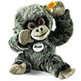 Steiff Gora Baby Gorilla Plush Toy (Grey Tipped)