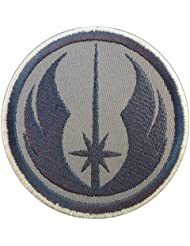 jedi order star wars gray subdued embroidered touch fastener cusson patch