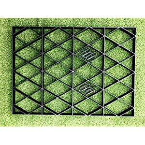 12×8 GARDEN SHED BASE GRID = FULL ECO KIT 3.66m x 2.55m + HEAVY DUTY MEMBRANE PLASTIC 8×12 feet ECO PAVING BASES…