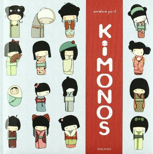 Kimonos (Kokeshi) por Annelore Parot