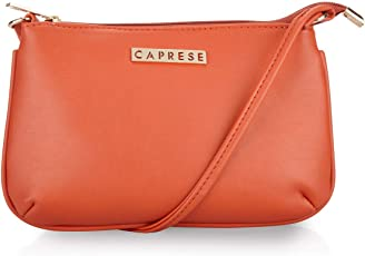 Caprese Shyla Women's Sling Bag (Orange) ()