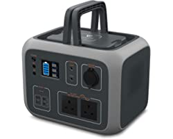 BLUETTI Portable Power Generator AC50S 500Wh 2AC Outlet 220-240V with UK Plug,PD 45W USB-C,Wireless Charging,Regulated DC12V
