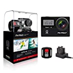AKASO Brave4 4K WiFi Action Camera 20MP Ultra HD with EIS 30m Waterproof Underwater Camera Remote Control 5X Zoom Sports...