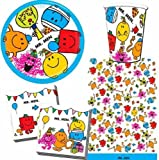 Mr Men Party Tableware Pack for 8